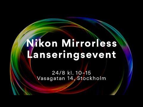 Livestream - Intervju med Bengt Lundberg från Nikon