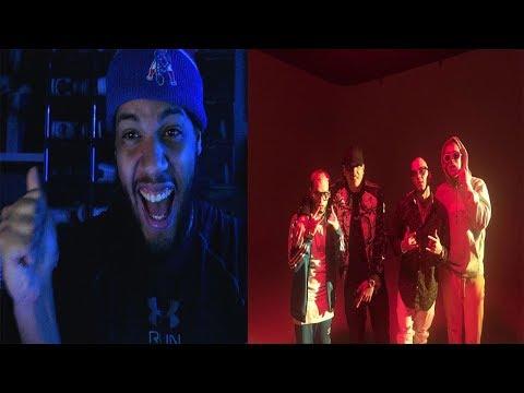 Te Bote Remix - Casper, Nio García, Darell, Nicky Jam, Bad Bunny, Ozuna   Video Oficial - Reaccion