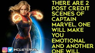 [Spoilers] Captain Marvel Post credit scenes 1 and 2