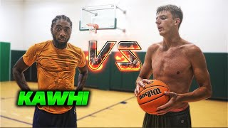 I Trash Talked an Overseas Pro   1v1 Basketball