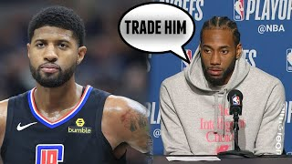 Kawhi Leonard and Paul George React to Game 7 NBA Playoff Loss to Denver Nuggets