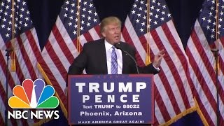 Donald Trump Outlines 10 Point Plan For Immigration Reform | NBC News
