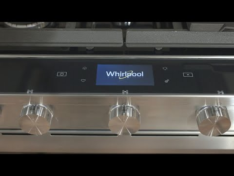 Alexa-integrated Whirlpool oven hands-on