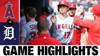 Angels vs. Tigers Game Highlights (8/19/21) | MLB Highlights