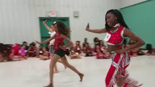 A'SHARI DANCING DOLL TRYOUT 2018