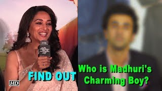 Who is Madhuri Dixit's Charming Boy?..
