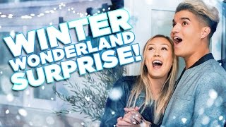 EPIC BOYFRIEND WINTER WONDERLAND SURPRISE!!