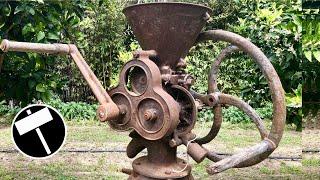 1902 Grain Crusher Restoration