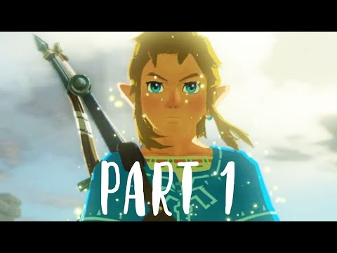The Legend of Zelda Breath of the Wild Gameplay Walkthrough Part 1 (Nintendo Switch 1080p 60fps)