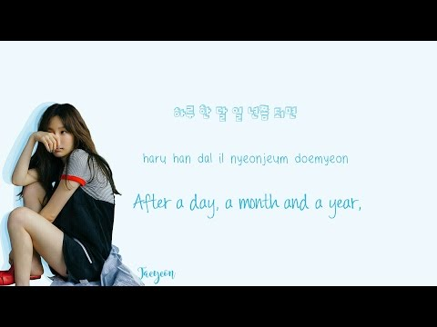 TAEYEON - Fine Lyrics (Han|Rom|Eng) Color Coded