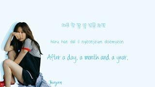 TAEYEON - Fine Lyrics (Han|Rom|Eng) Color Coded