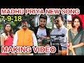 Watch: Singer Madhu Priya New Song Making Video