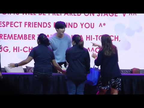 [11.11.2017] Park Hyung Sik 박형식 Fanmeet in Manila - Hitouch Event (Random)