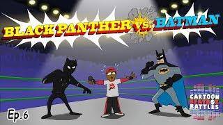 Black Panther vs Batman - Cartoon Beatbox Battles
