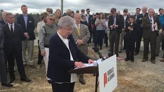 Gov. Kay Ivey talks about gas tax proposal