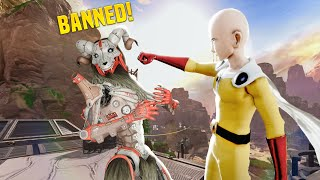 CHEATER *BANNED* LIVE!!  | Best Apex Legends Funny Moments and Gameplay - Ep. 532