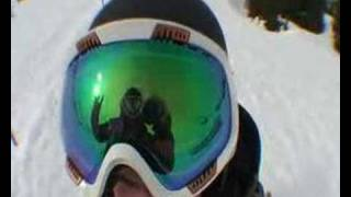 Sympatique video de ski extreme
