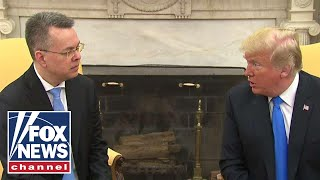 Trump meets with Pastor Brunson at White House