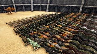 Giganotosaurus VS ARK Dinosaurs    Cantex