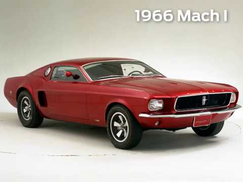 Ford's Fascinating Mustang Concepts