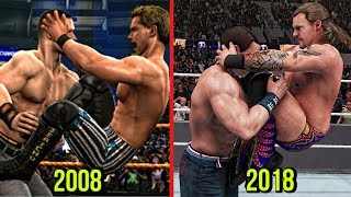 WWE 2K19 The Evolution Of Chris Jericho Codebreaker! ( Smackdown vs RAW 2009 To WWE 2K19 )
