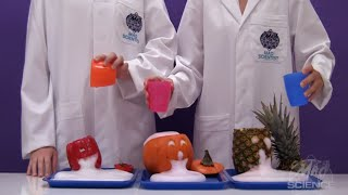 Spewing Jack-O'-Lantern Reaction - Mad Science