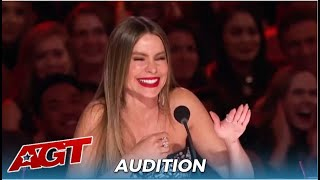 SASSY Sofia Vergara Pulls Out Her SPICY Side Learns How To Use The RED BUZZER!