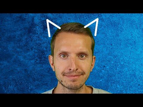 J'ai des oreilles de chat.
