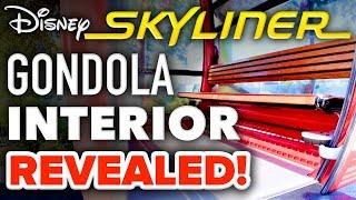 Disney Skyliner GONDOLA INTERIOR REVEALED at Walt Disney World! - Disney News