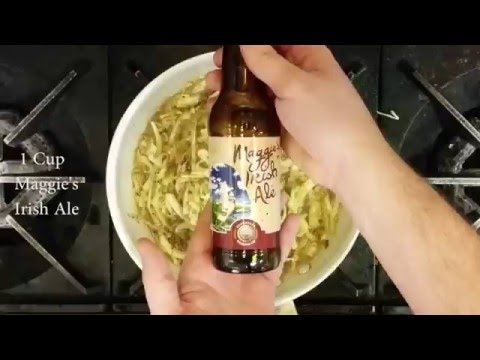 Saugatuck Brewing Company | Cooking with Beer | Corned Beef & Cabbage Quesadilla