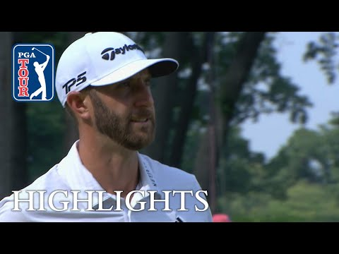 Dustin Johnson?s Round 2 highlights from THE NORTHERN TRUST 2018