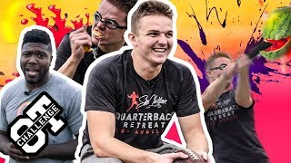 South Carolina QB Ryan Hilinski GETS MESSY In The Overtime Challenge! Nation's BEST QB!? 😱