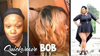 Ghetto Tutorial: Quickweave Bob!