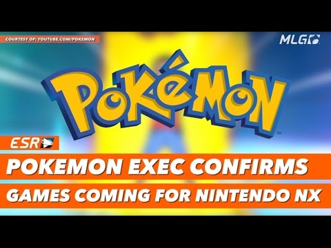 New Pokémon​ games are coming to the Nintendo​ NX!