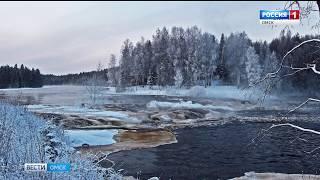 В реке Шиш, которая протекает вблизи села Васис Тарского района, обнаружено большое количество марганца