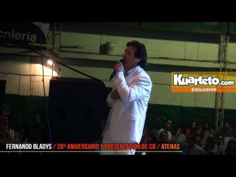 Fernando Bladys - 26° Aniversario y presentación de CD - Kuarteto.com