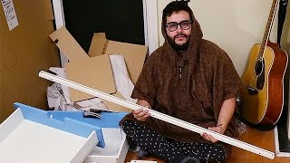 Roommates Forced to Build IKEA Furniture at 3AM