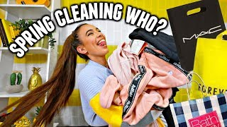 TRY ON CLOTHING HAUL! Ari ponytail, makeup, face masks and more! Spring cleaning who?