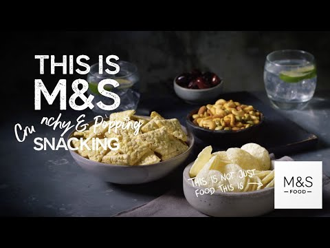 marksandspencer.com & Marks and Spencer Voucher Code video: M&S | M&S | This Is Not Just Snacks... This Is M&S Crunchy & Popping Snacking