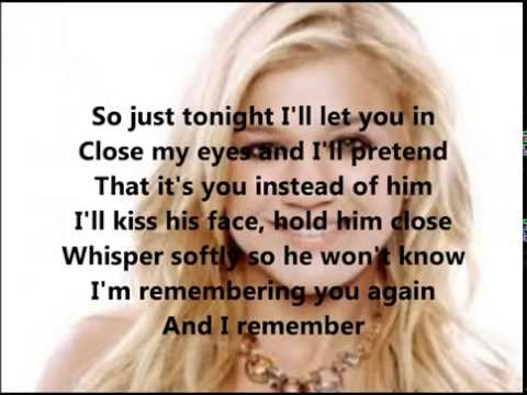 I Remember Kelly Clarkson lyrics