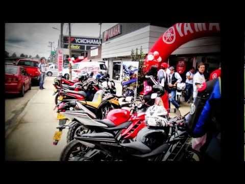 Caravana Aceitar Motos - Inauguración Chia Agosto 25 2012