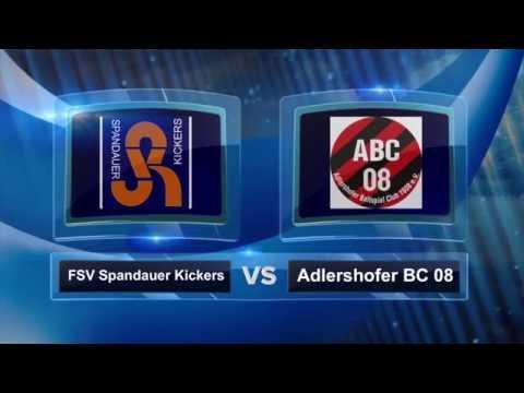 FSV Spandauer Kickers - Adlershofer BC (Landesliga, Staffel 2) - Spielszenen   SPREEKICK.TV