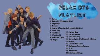 [Playlist] BTS - Relaxing music