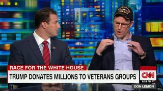 Perry O'Brien/Carl Higbie - Veterans Debate Trump (CNN Tonight)