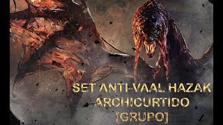 [Masa Guía] Monster Hunter World - Set para Vaal Hazak Archi-Curtido [Grupo]