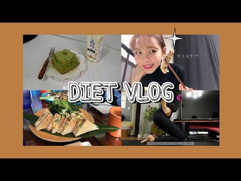 [DIET VLOG] -10kg후 유지할 수 있는 나의 평범한 다이어트 일상들 ! 🎄