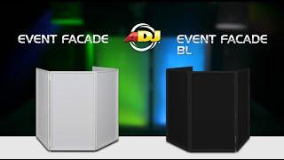 AMERICAN DJ EVENT FACADE in action