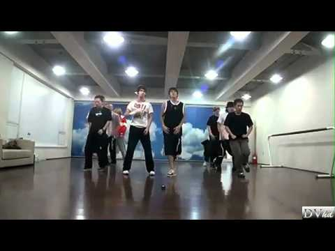 TVXQ - Why / Keep Your Head Down (dance practice) DVhd