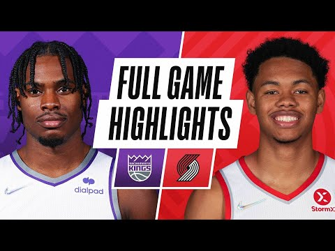 KINGS at TRAIL BLAZERS | NBA PRESEASON FULL GAME HIGHLIGHTS | October 11, 2021