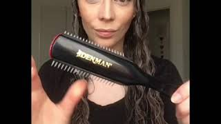 How to Style with a Denman Brush | Curly Hair